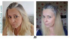 Wie verwandeln Sie sich von gefärbtem Haar in natürliches graues Haar? Joli Campbell Sha …