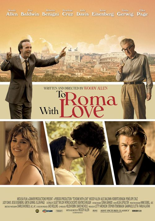 Watch To Rome with Love 2012 Full Movie Online Free