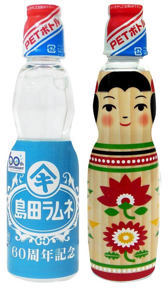 Kokeshi Ramune. Want more Kokeshi? Come visit our next exhibit! http://www.morikami.org/museum/exhibits/