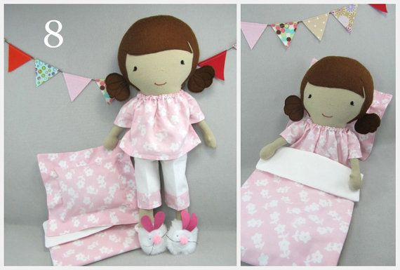 Studio Doll Boutique  Bed Time Set  Pajamas with Pillow and