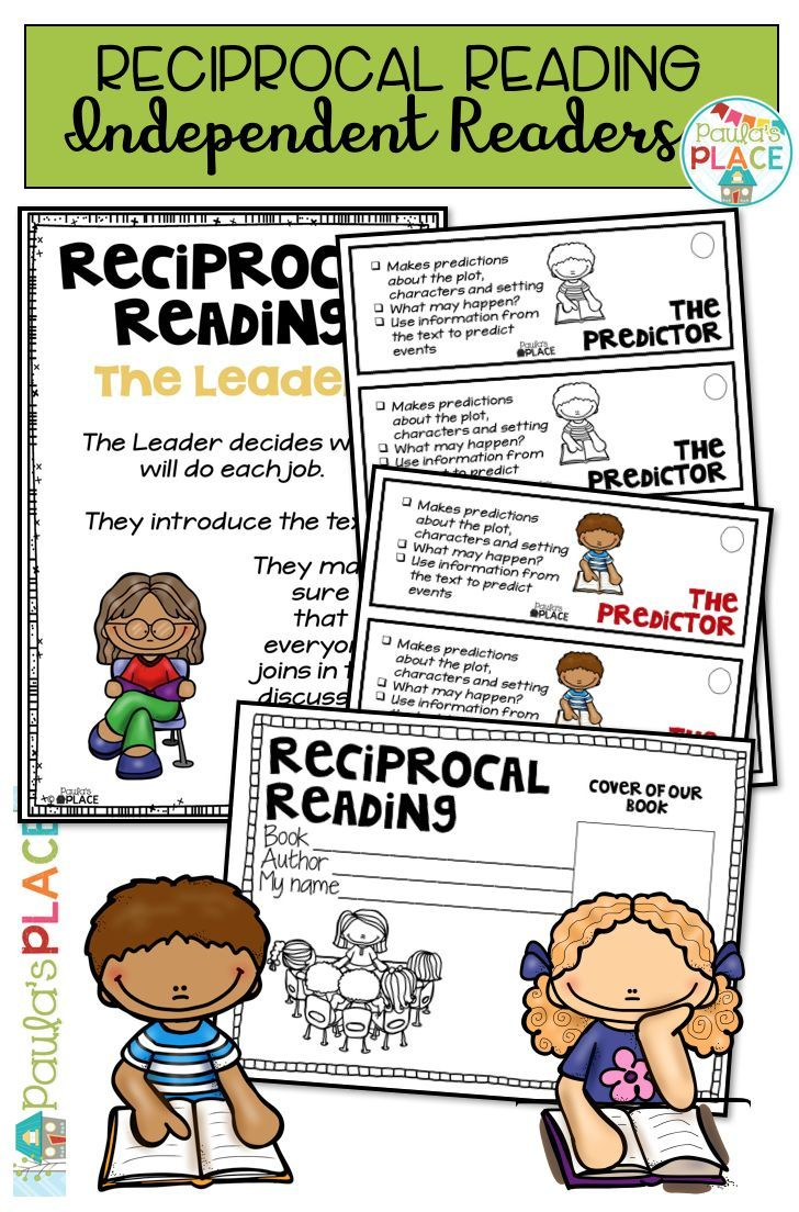 This Pack Is A Must For Introducing Reciprocal Reading There Are Tasks To Help Consolidate Reciprocal Reading Teaching Reading Strategies Reciprocal Teaching [ 1104 x 728 Pixel ]
