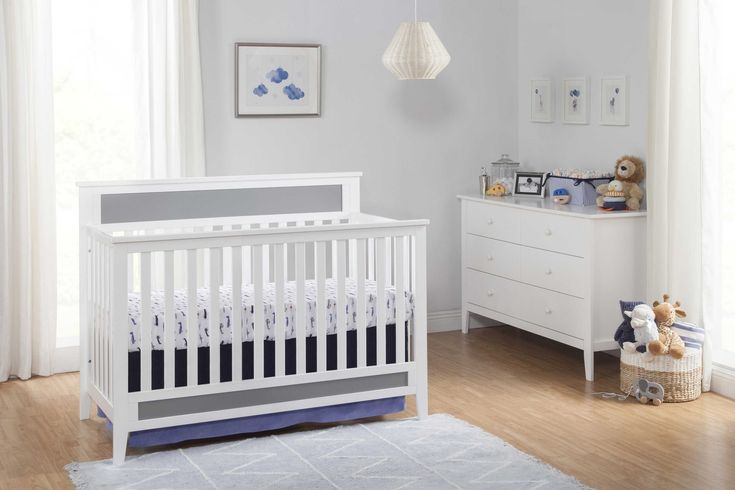 Convertible Cribs | 4 in 1 Convertible Baby Cribs - buybuy BABY