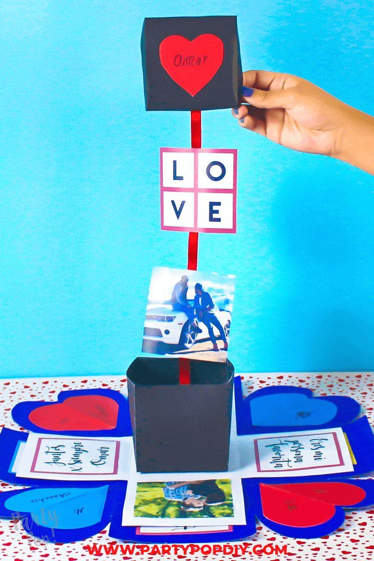 Cajas explosiva día de los enamorados #cajas #regalos #regaloparatupareja Baby Shower, Playing Cards, Cakes, Recycled Crafts, Sachets, Crates, Babyshower, Playing Card Games, Baby Showers