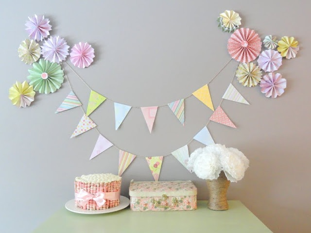 Adorable Spring party ideas at Kayboo Creations: Tea Party Birthday