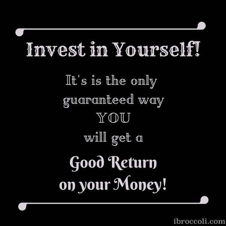 Invest in yourself. Motivational Quote. #quote #motivational #invest #self