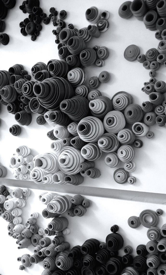 Rowan Mersh | Leather Installation, 2010