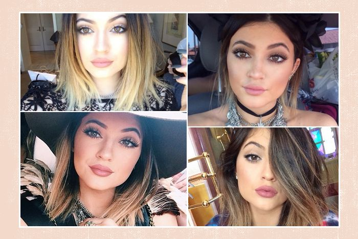 Kylie Jenner Makeup Lipstick Colors and Drugstore Dupes