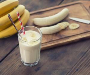 Kávovo-banánové smoothie