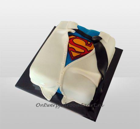 Verjaardagstaart Superman