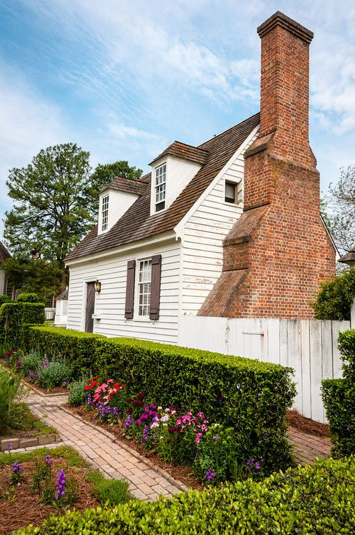 John blair house duke of gloucester street colonial for American colonial architecture