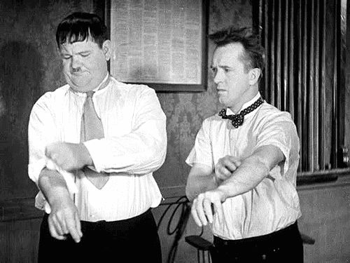 It's Friday so that means Laurel & Hardy time!!!  Movie Poster / Movie ImagesComedy Greats!!! / Comedy GenuisStan Laurel and Oliver HardyFor more from the movies head over to: http://www.popcorncinemashow.com/