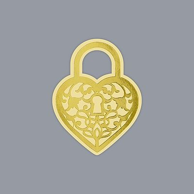 Love Lock Seal - Gold  David's Bridal Invitations