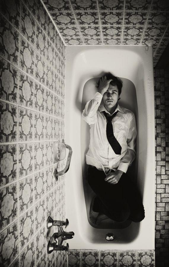 .muerto en la bañera