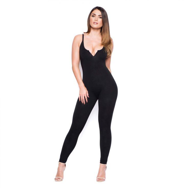Black Bodycon Jumpsuit | Jumpsuits & Dresses