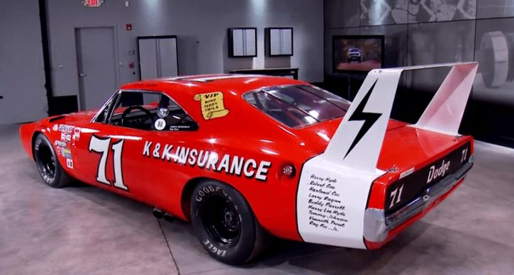 See the story of K&K Insurance 1969 Dodge Charger Daytona #71 which changed NASCAR forever in 1970 with Bobby Issac behind the wheel!