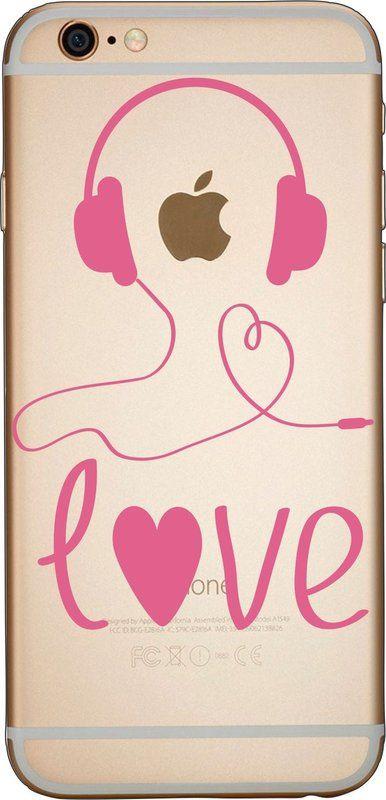 Capinha para celular - Amo Música. Capinhas para iPhone, Samsung, Sony, Motorola, LG, Asus e Lenovo.