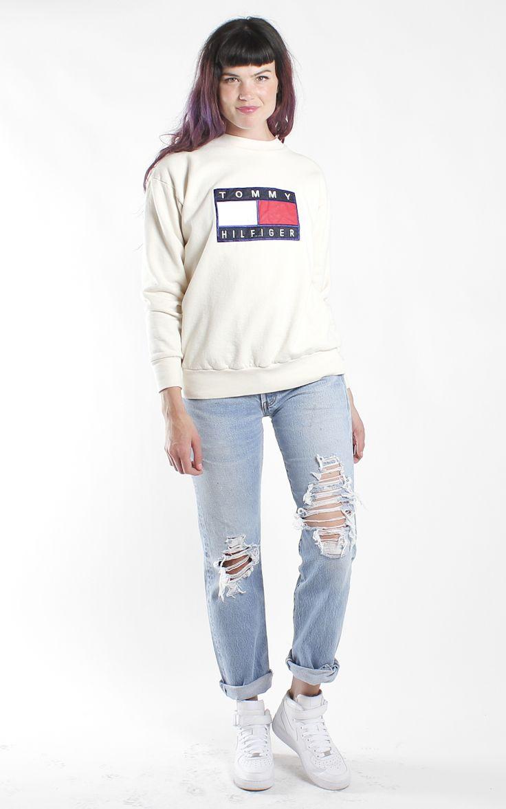 Vintage Tommy Hilfiger Sweatshirt Tommy Hilfiger