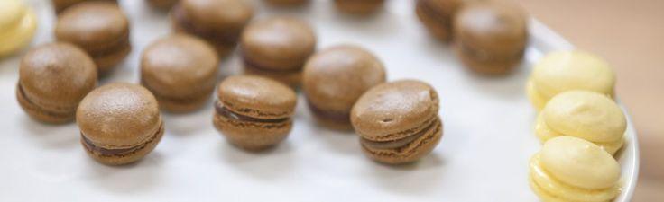 Idas makroner med lemoncurd og makroner med sjokoladeganache og salt karamell | TV3 Mat
