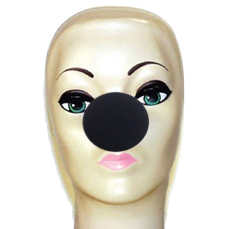 """Magic By Gosh Foam Clown Nose - Black (2"""")"""