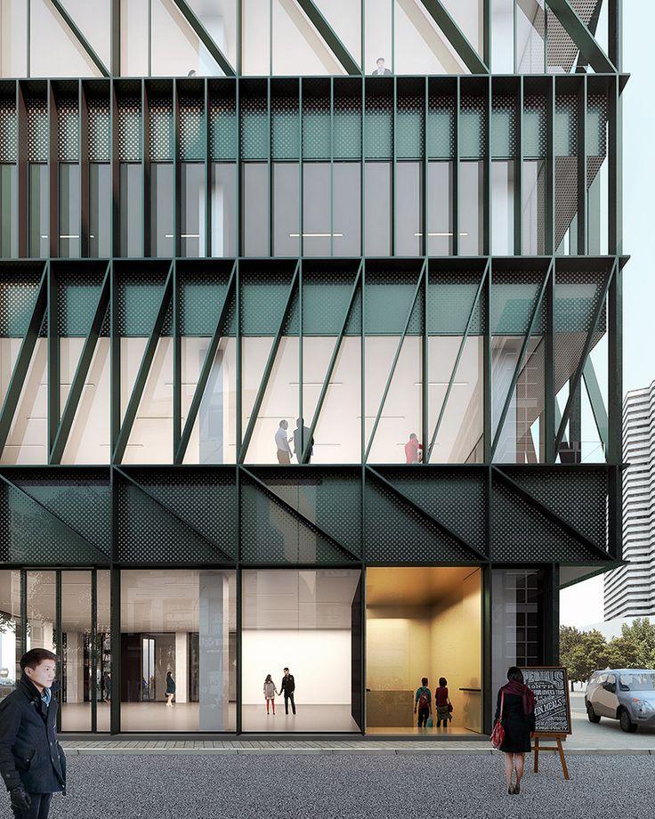 mecanoo plans namdeamun office building in south korea