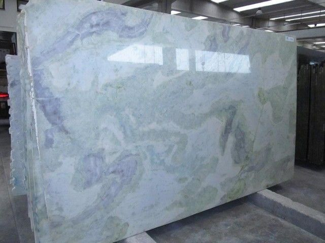 Volga Cute Blue Marble Countertop On Kitchen Wi Blue Countertop Countertops Cute Kitchen Marble Quartzite Volga Marble Countertops Countertops Kitchen Countertops