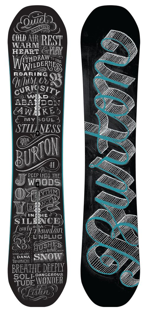 I dont have the chance to go boarding as often as you guys but if i did this would be my board