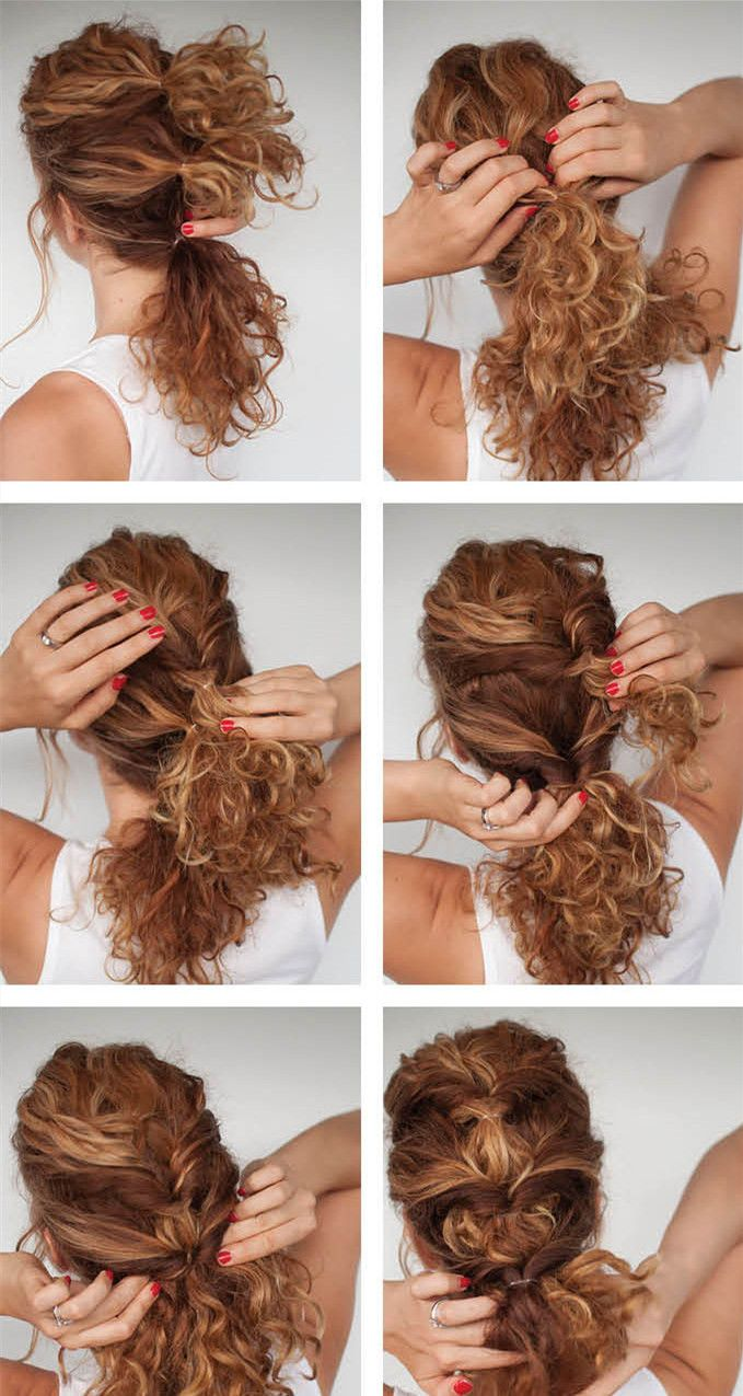 15 Everyday Hairstyles Curly To Rock Your Fantasy Curly Hair Styles Easy Hair Styles Curly Hair Styles