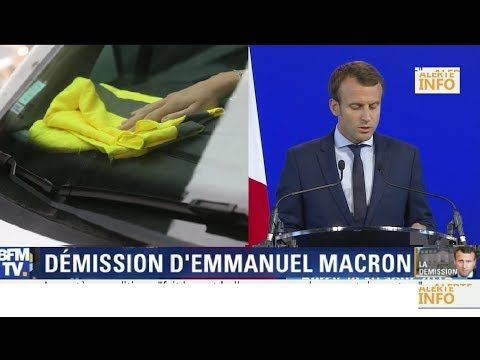 Gilet Jaune Blocage 17 Novembre Marine Le Pen Appelle Macron A