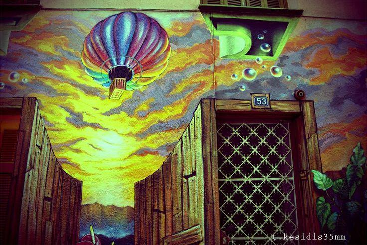 Graffiti in Athens by Tolis Kesidis