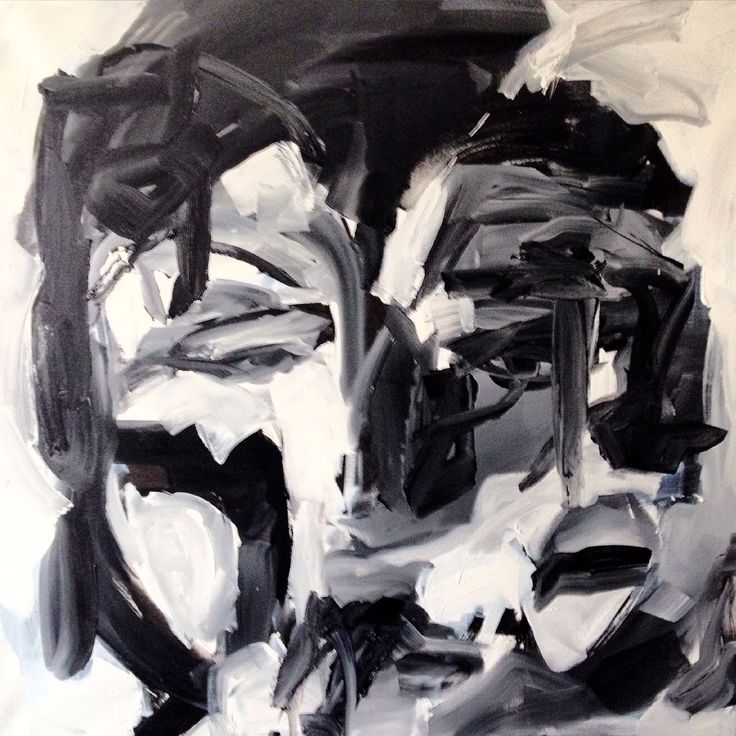 Oil on canvas. 100x100