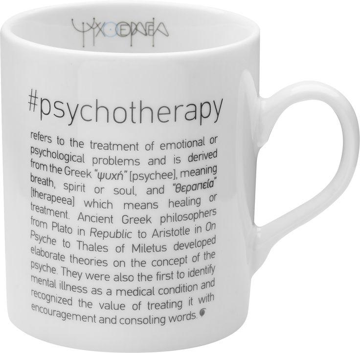 Mug #psychotherapy