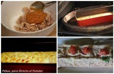 Pastel de atún en conserva y salmón ahumado. Receta con fotos paso a paso del proceso de elaboración y presentación. Trucos y consejos para que el pastel que...