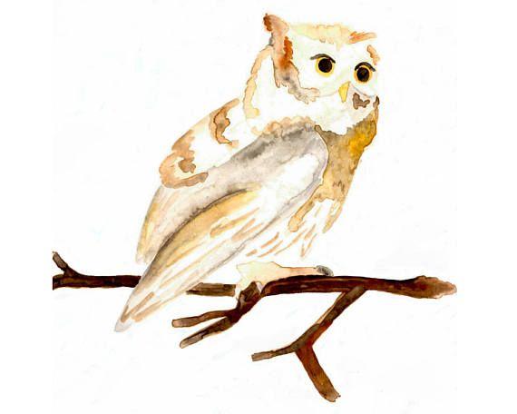 Owl Printable - Etsy - Little Pond Prints