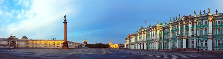 St.Petersburg, Russia. The Palace Square.