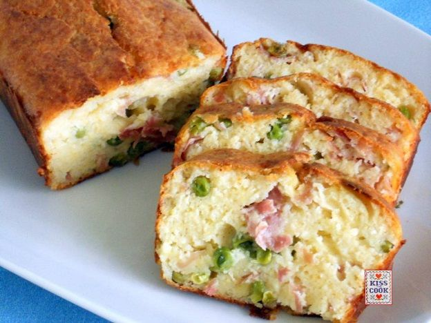 plum cake salato con farina di mais