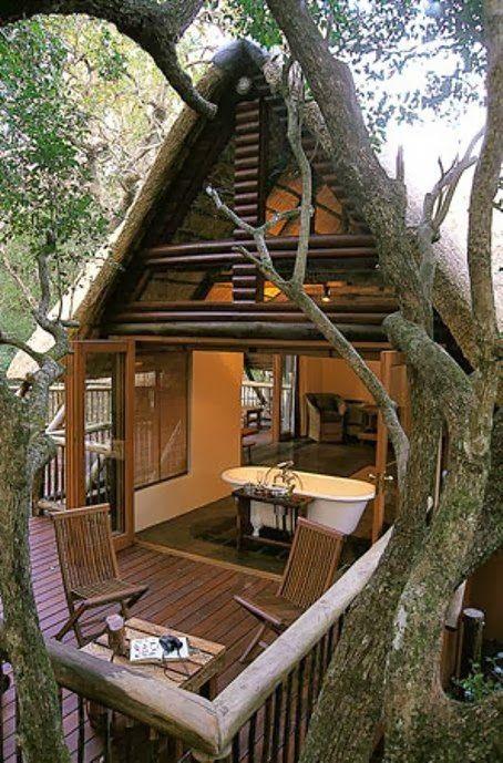 Hluhluwe River Lodge & Safari Adventures, South Africa - Honeymoon Chalet in the Trees