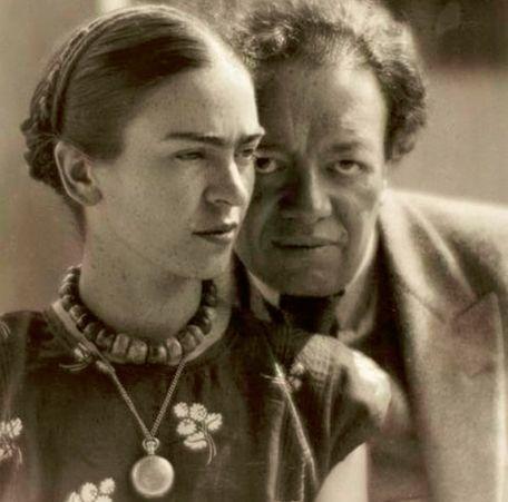 Фрида Кало и Диего Ривера: брак слона и голубки