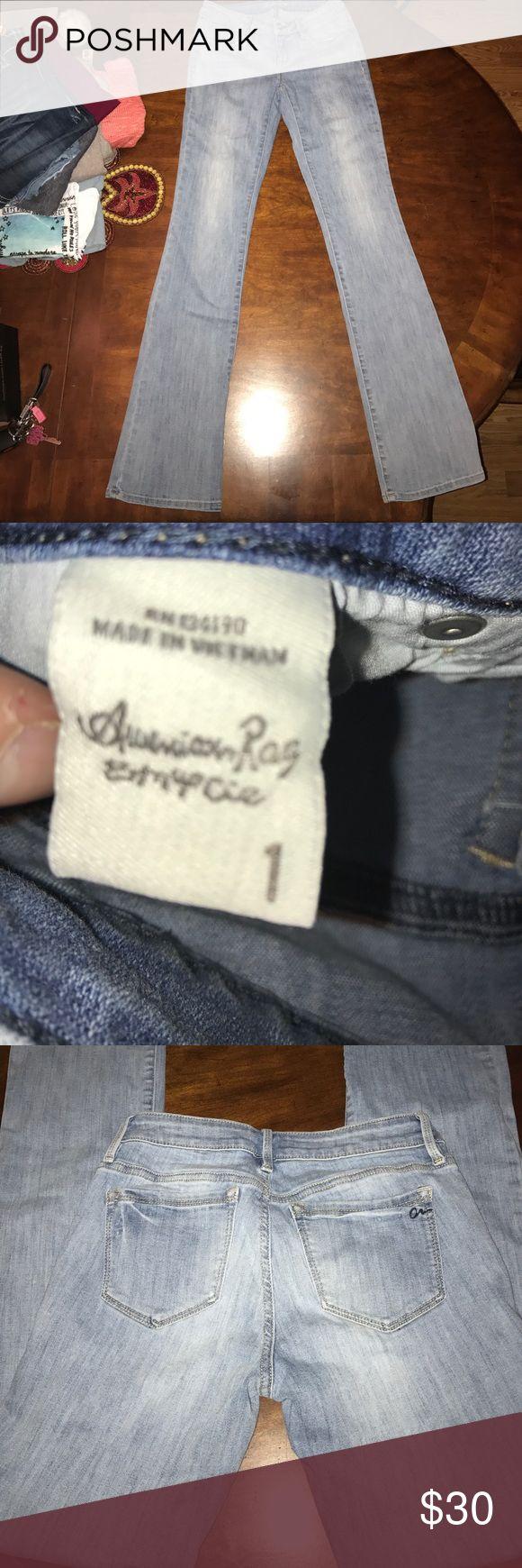 American Rag jeans Boot cut American rag jeans, never worn American Rag Jeans Boot Cut