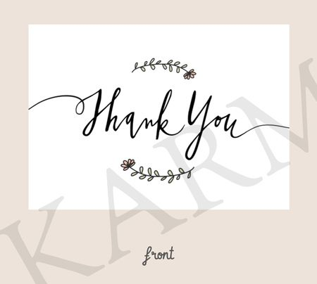 Best 25+ Thank you card design ideas on Pinterest Art business - thank you note