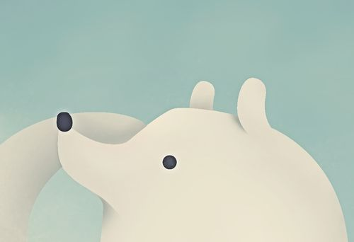 ICE BEAR!!! by AARON MARTINEZ, via Behance
