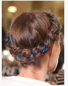 milkmaid braids #hair