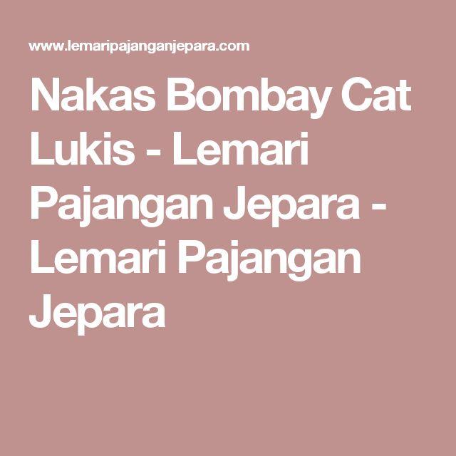 Nakas Bombay Cat Lukis - Lemari Pajangan Jepara - Lemari Pajangan Jepara