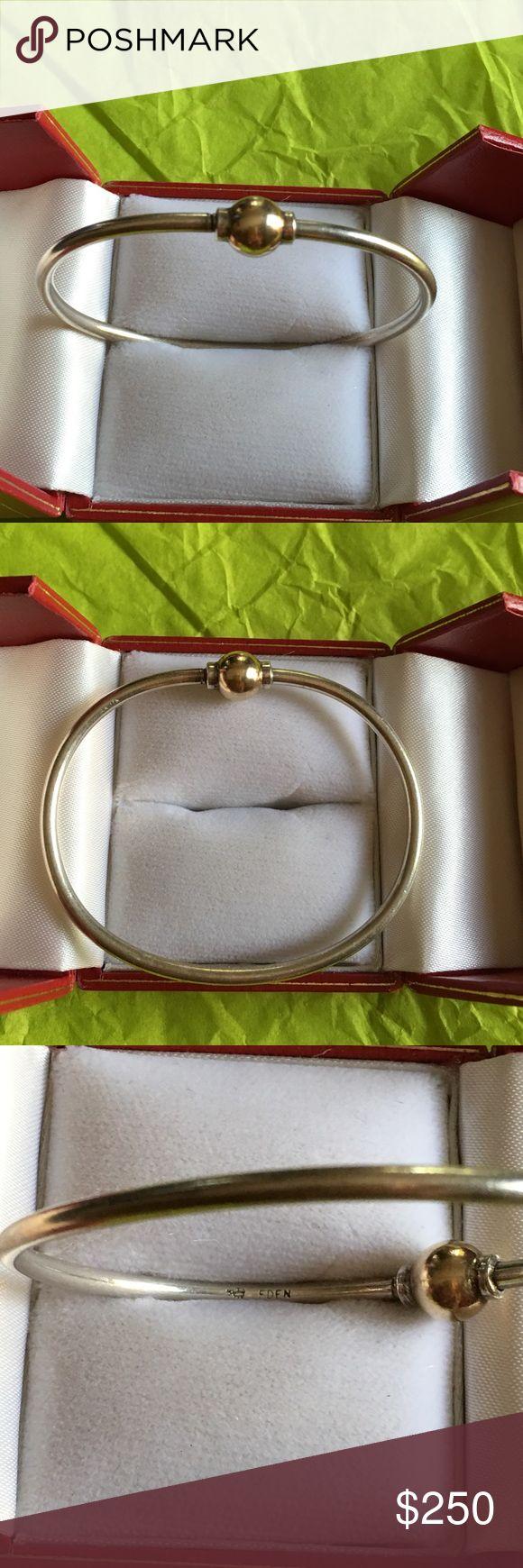 Original Cape Cod Bracelet  Eden Lver W Gold Purchased At Eden