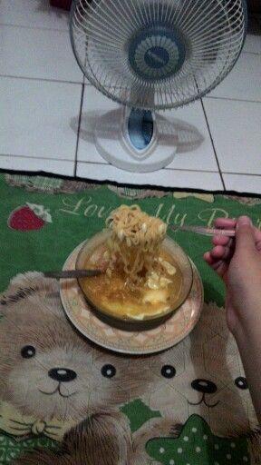 indomie boiled noodles