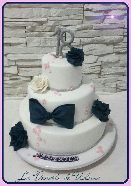 18 years cake