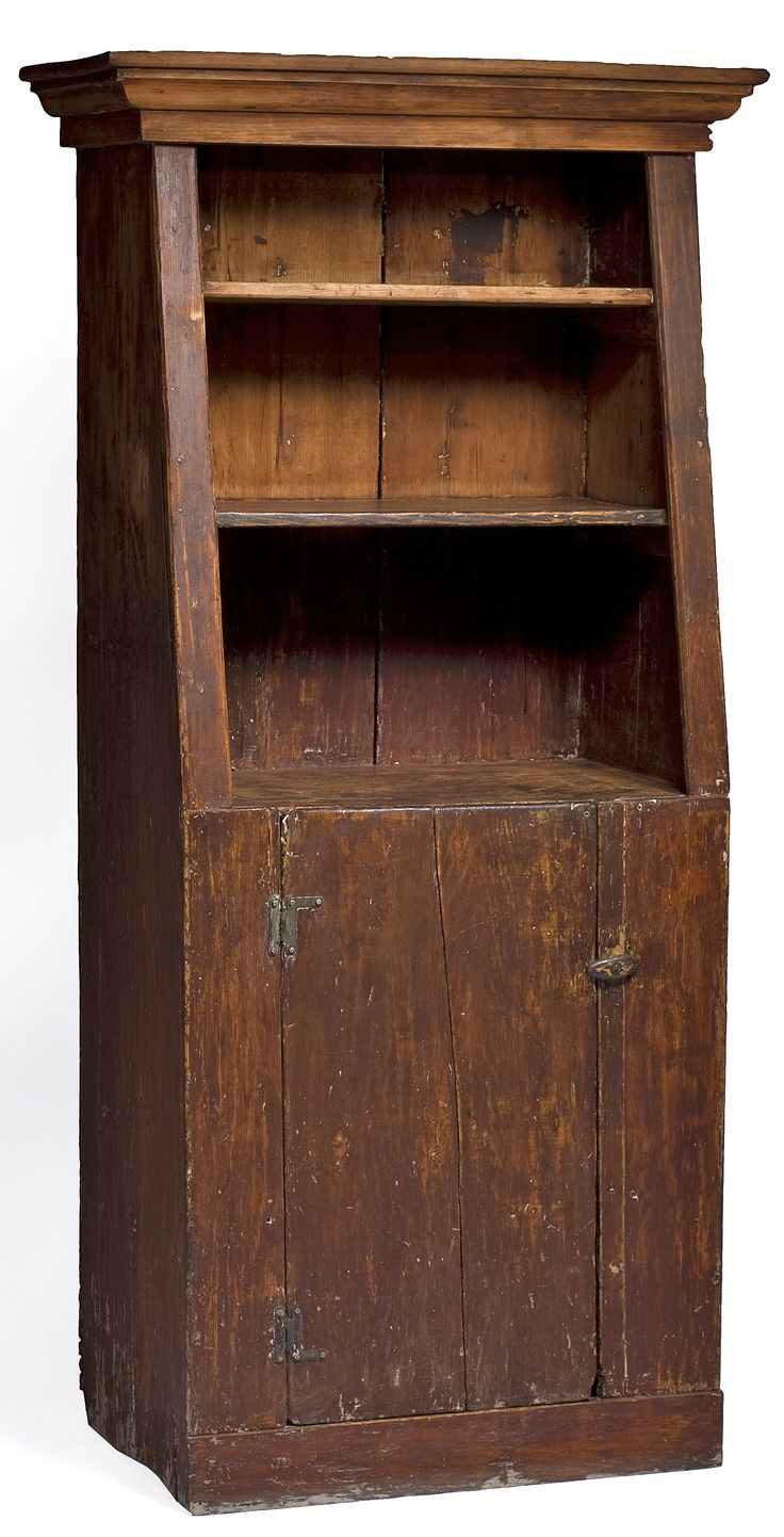 Country cupboard with a great shape