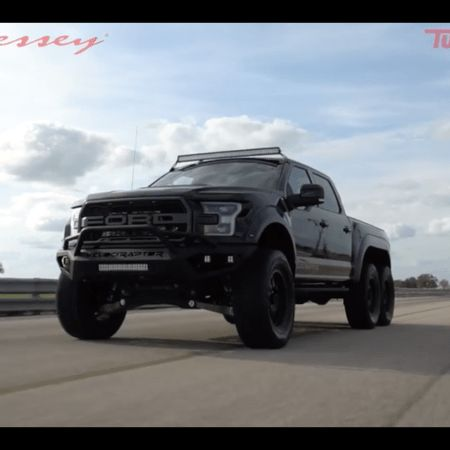 """SOURCE:Hennessey Performance Hennessey VelociRaptor 6×6 Review & Test Drive! 