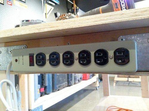 Workbench idea for power bar.