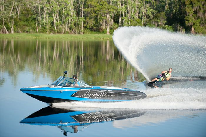 Ski Nautique 200 Open Bow, An Open-Bow Revolution In Tournament Ski Boats