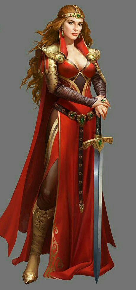 Lady. Hohe Edle. Rondra-Ritterin. DSA, Pathfinder (459 × 979 Pixel)